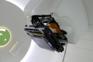 Der neue Strahlkopf macht eine noch präzisere Bestrahlung möglich.