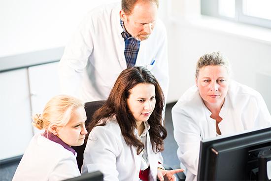 Interdisziplinäre Zusammenarbeit für Strahlentherapie im WPE.
