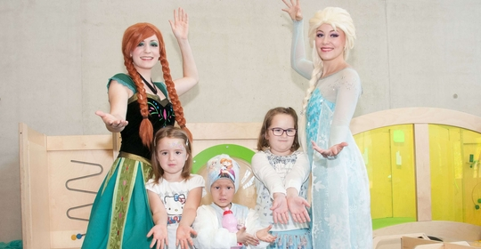 The Ice Princesses Visit the WPE