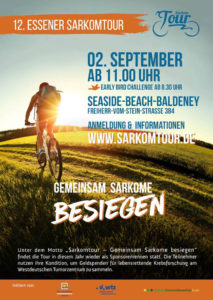 Flyer zur 12. Essener Sarkomtour.