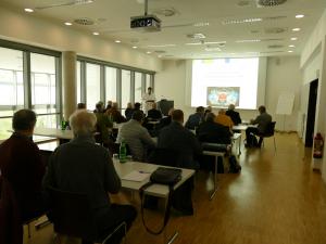 Vortrag Prostatakrebsselbsthilfegruppen NRW am WPE.