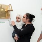 Patienten-Glocke mit Henning Baum eingeweiht