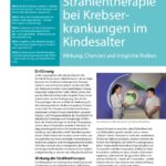"""Strahlentherapie bei Krebserkrankungen im Kindesalter – Magazin """"WIR"""" 3/2018"""
