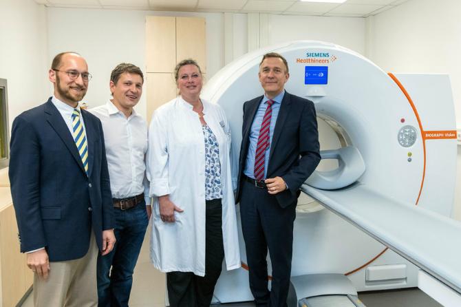 Präziser, schneller, komfortabler: Neues digitales PET/CT-System am WPE