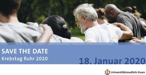 Mediziner, Forscher und Patienten an einem Tisch: Krebstag Ruhr 2020